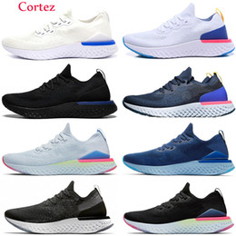 Sh sportschuhe online-Nike Epic React Flykni Volt Königs Tint Total Orange React 87 Element Laufschuhe für Frauen Männer Dunkelgrau Blue Chill Trainer 87s Sail Sports Turnschuhe SH