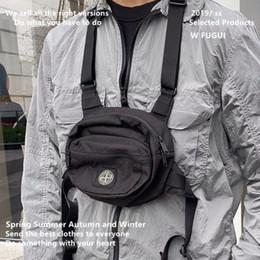 sacs d'appareil photo tactique Promotion Multifonctionnel tactique sac de poitrine de machine ronde couple masculin et féminin diagonale croix-span frit personnalité sac caméra sac