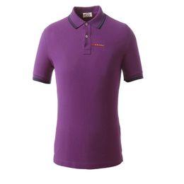 Argentina Diseñador de la marca de los hombres camisa casual de polo moda simple todos los días a juego de rayas de puño clásico doble hebilla diseño 100% algodón transpirable Suministro
