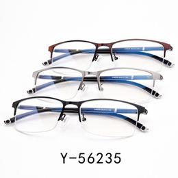 863d3f29b Alta Qualidade Única Armações de Óculos Ultra Leve Ultra Fina Homens Miopia  Espetáculo Moldura