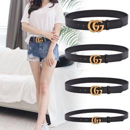 cinturones xl para hebillas negro Rebajas 2019 Cinturones de diseño Hombres y mujeres Cinturón de moda Mujer Cinturón de cuero Oro Plata y Negro Hebilla Diseñador de moda Cinturones de cuero genuino hombres