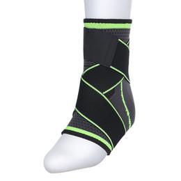 Tejido en 3D elástico correa de nylon tobillo soporte corsé baloncesto de fútbol taekwondo gimnasio talón protector gimnasio equipo desde fabricantes