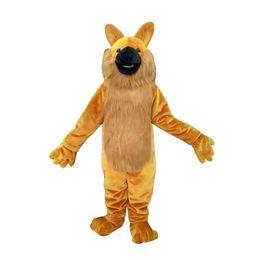 promozioni personalizzate Sconti Costume del costume adulto del costume della mascotte su ordinazione del lupo con la testa dell'interno del fan per la promozione di pubblicità commerciale