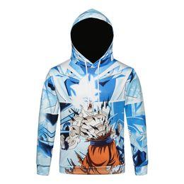 Anime Group Goku Krillin Vegeta Buu Pullover Sweatshirt Hoodie Sweater