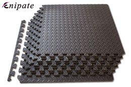 2019 tapis de mousse Enipate 1 PC café Interlocking EVA mousse souple exercice Tapis Tapis enfants Gym Tapis Jouer Villa Bureau Mat 30 * 30 * 1cm