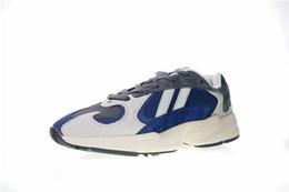 Argentina Con estuche New Release Yung-1 Classic 700 Dad Zapato deportivo Hombres Mujeres Gris Blanco Azul oscuro Diseñador de la marca Moda Look Zapatos para correr Suministro