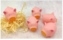 brinquedos de borracha Desconto Brinquedos de borracha brinquedos Infláveis pinch música INS cartoon macio brotando rosa bonito pequeno porco piscina descompressão brinquedos para crianças.