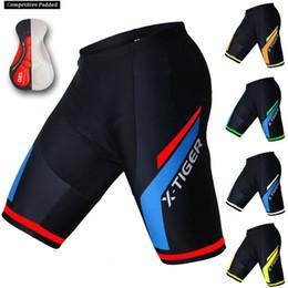 X-TIGER Short de Cyclisme Homme Cycliste Cuissard /à Bretelles avec 5D Gel Rembourr/é Pantalon Court Cyclism VTT Sports Fitness Short V/élo