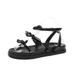 Canada Rome Cross-Strap Sandales d'été pour les femmes avant sangle arrière solide femmes chaussures bande élastique boucle de plage sandales supplier elastic strap sandals Offre