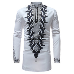 2020 polyester long sleeve shirt feitong men long sleeve special style shirts man stand collar funny printed casual shirts winter polyester slim fit shirt#g25 скидка polyester long sleeve shirt