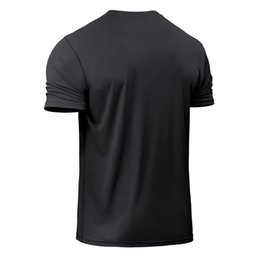 024828b1c83c High-elastic Running Shirt Fitness Tight Men  s Quick Dry Compression Short  Sleeve T-Shirts Tennis Soccer Gym Tight-fitting Tops