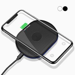 Chargeur sans fil iphone plus en Ligne-Chargeur sans fil Qi pour iPhone X XR XS Max 8 Plus USB Chargeur pour chargeur sans fil pour Samsung S9 Note9 S10