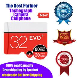 Micro sd speicherkarten großhandel online-Nagelneue reale Kapazität 100% 32bg Mikro-Sd-Karten-codierte Karte TF U1 Class10 Qualitätsgarantie-Kleintropfen-Verschiffen-Großverkauf der hohen Geschwindigkeit