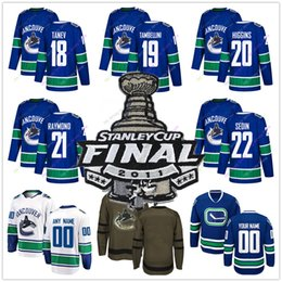 ac4f7c97798 Discount vancouver canuck jersey - 2011 Stanley Cup Jersey Ice Hockey  Vancouver Canucks Christopher Tanev Jeff