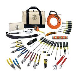 2019 sistemi di supporto utensili Il set di attrezzi da viaggio 18 o 41 pezzi Klein Tools