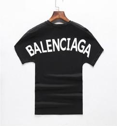 2019 nouveau coton de haute qualité de haute qualité O col à manches courtes style chaud lettre imprimée T-shirt pour hommes niveau international style style casual ? partir de fabricateur