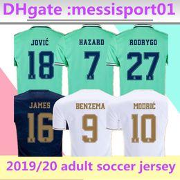 Uniforme real de madrid online-Camiseta equipación Real Madrid 2019 2020 primera segunda equipación NUEVA PELIGRO ASENSIO ISCO MARCELO uniformes de fútbol tall S-2XL