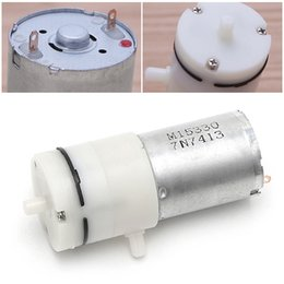 2019 engrenagem óleo bomba hidráulica 3 pçs / lote _ DC 12 V Elétrica Micro Micro Bomba de Vácuo Bombas Elétricas Mini Bomba De Ar De Bombeamento Impulsionador Para O Tratamento Médico Instrumento