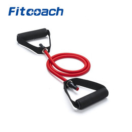 rubber string chest developer Promo Codes - Fitness TPR 135cm Single Resistance Bands for Exercise Gym Workout Crossfit Training