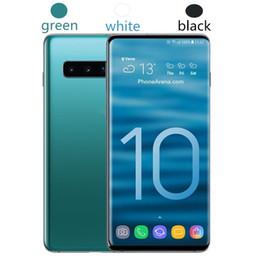 лучший mp3 сотовый телефон Скидка Goophone S10 S10 + 6,3-дюймовый MTK6580 разблокированный сотовый телефон Quad Core Android 7.0 1G Ram 8G Rom смартфон WCDMA 3G