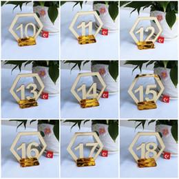 2019 свадебные открытки акриловые Творческие 1 Для 30 Рабочих карт Акриловой Place Holder Зеркало Номера поверхности стола Вход Fit Свадьба Сторона Банкет Supplies 2 8XT E1 скидка свадебные открытки акриловые