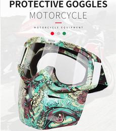 Deutschland Goggle New Style Goggles Männer Stilvolle Motorrad Windschutzscheibe Outdoor Reiten Wind und Sand Schutzbrille Retro Harley Maske Windschutzscheibe Versorgung