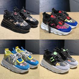 Sola de borracha tpr on-line-2019 Sapatos de Reação Casual Designer 2019 Novas Moda Sneakers Esporte Leve Em Relevo-Em Relevo Sole Malha De Borracha De Couro