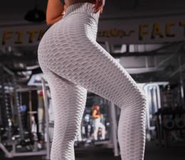 Leggings listradas femininas on-line-Mulheres correndo mulheres listrado comprimento total das mulheres roupas de yoga exercício leggings de fitness ativo magro magro esporte mulheres roupas