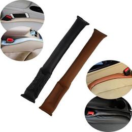 Cuoio di lusso Auto Auto sedile Pad Gap Fillers Holster Spacer Filler imbottitura Spacer Filler imbottitura protettiva in Auto Cleaner Clean Slot da bianchi coprisedili per auto in pelle nera fornitori