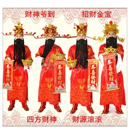 dresses singapore Coupons - Fortuna mammon costume company open ceremony god of wealth Clothing Outfit Overseas Singapore Chinese Cosplay Fancy Stage Dress