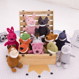 Grandi bambole di maiale ripiene online-Sorriso Grande Peluche Bambole Grin Pig Farcito Giocattolo Volpe Cane Squalo Giocattoli 30 Cm Animali Creativo Nuovo Arrivo 8 5yf D1