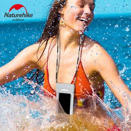 2019 telefone à prova de água com touch screen Naturehike tela de toque do telefone móvel à prova d 'água saco de areia livre praia iphone à prova de água bolsa case para a natação mergulho mergulho # 743970 telefone à prova de água com touch screen barato