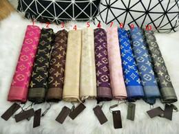 bufanda paisley morada Rebajas 2018 bufanda de diseño a cuadros de lujo para mujer Bufandas de marcas de alta calidad Bufandas clásicas de algodón con hilo dorado para mujer bufandas tamaño 180x70cm para mujeres