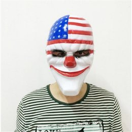 Toptan-Yeni 1 ADET PVC Korkunç Palyaço Maskesi Cadılar Bayramı Maskesi Antifaz Partisi Maskara Carnaval Fantezi Elbise Kostüm 20190409ayq Için supplier scary clowns for halloween nereden cadılar bayramı için korkunç palyaçolar tedarikçiler