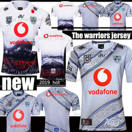 camisetas de guerreros Rebajas 2019 Australia GUERRERO Jersey de rugby conmemorativa jerseys Patrimonio Liga Nacional de Rugby indígenas camisetas de rugby Australia Jersey