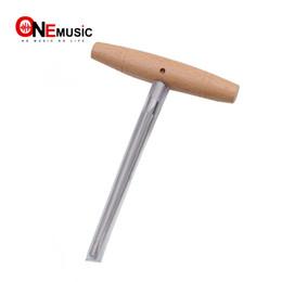 Escariador de agujeros online-Violin Viola Peg Hole Reamer 1:30 Mango de madera cónica para piezas de herramientas Luthier