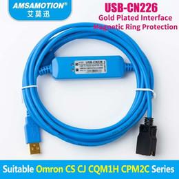 Omron PLC Programming Câble série CS//CJ//CQM1H USB-CN226 1PCS