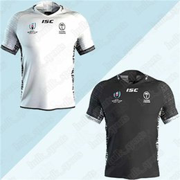 sale quality t shirts Coupons - Fiji Rugby Jerseys 2019 World Cup national team rugby jerseys Hot Sale top quality men T shirt