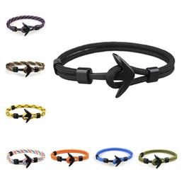 Shop Mens Rope Anchor Bracelet UK | Mens Rope Anchor