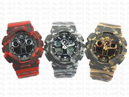 Beliebte männer marke uhren online-camo Beliebte Marke Männer Sport digitale Armbanduhr, Sport Chronograph Chronograph Uhr relogio masculino Casual
