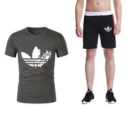 948b5631 Discount funny gym shirts - 2019 summer hot funny men's printing T-shirt +  shorts