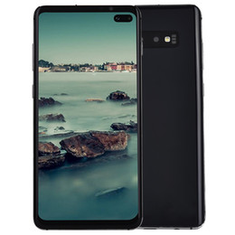 Wholesale 6 Punch Loch Vollbild Goophone S10 S10 Note9 S9 Android In Display Fingerabdruck Gesicht ID G LTE Octa Core MP Kamera Smartphone