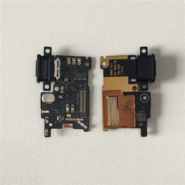 Cable micro flex online-MSen original para Xiaomi 6 Mi 6 Mi6 M6 Carga rápida Cargador Dock Connector Junta de puerto Cable Micro Flex USB con desbloqueo de dedo