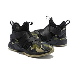 original basketball shoes for sale Coupons - What New The Lebron Soldier 12 Xii Mens Basketball Shoes For Sale Mvp Bhm Oreo Youth Kids Generation Sneakers Boots With Original Box
