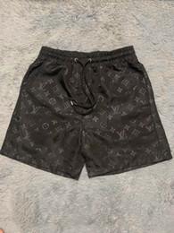pantalones de entrepierna masculina Rebajas Mayor del verano forman los cortocircuitos Nuevo diseño de la placa corta de secado rápido traje de baño de la impresión Junta pantalones de la playa de los hombres pone en cortocircuito para hombre