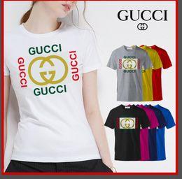 2019 nueva marca camiseta diseño de moda patrón de impresión, cuello redondo manga corta garantía de calidad de marca opciones de varios colores desde fabricantes