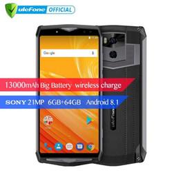 2019 loja de carregador sem fio Ulefone Poder 5 13000 mAh 4G Smartphone 6.0