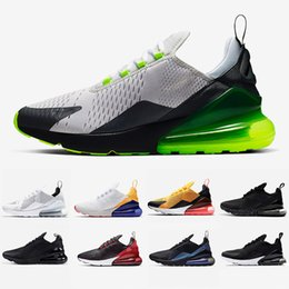 Chaussures de sport pour les filles en Ligne-Nike air max 270 shoes Cheap women Running shoes White pink Mowabb Washed Coral Space Purple Training Outdoor Sports womens Trainers Zapatos Sneakers