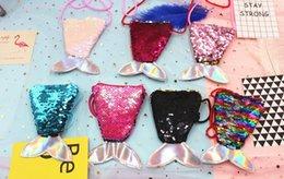 Rosa moeda Sugao bolsa carteira bolsa crossbody peixe animais lantejoulas mini-bolsa para mulheres e crianças menina Ambos os lados estão disponíveis carteira pequena de