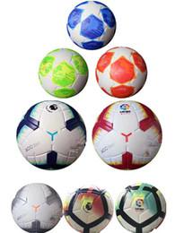 Fußballbälle online-Meisterliga 2018 2019 Größe 5 Bälle Fußball hochwertiges schönes Spiel Liga Premier 18 19 Fußbälle (Schiff die Bälle ohne Luft)